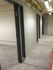 Doors Framed Hallway
