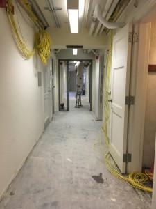 Hallway Taping